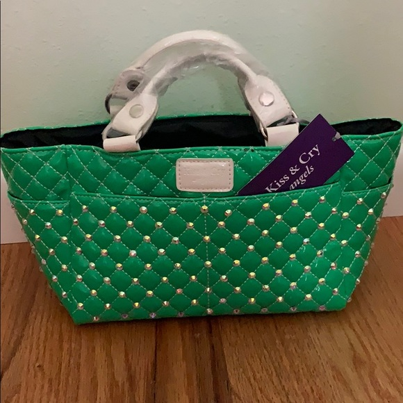NEW Kiss&Cry Angels Rink Tote with Crystals